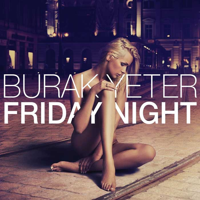 copertina canzone friday night