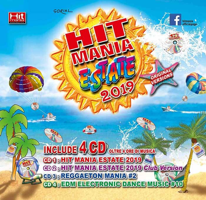 Copertina Hit Mania Estate 2019