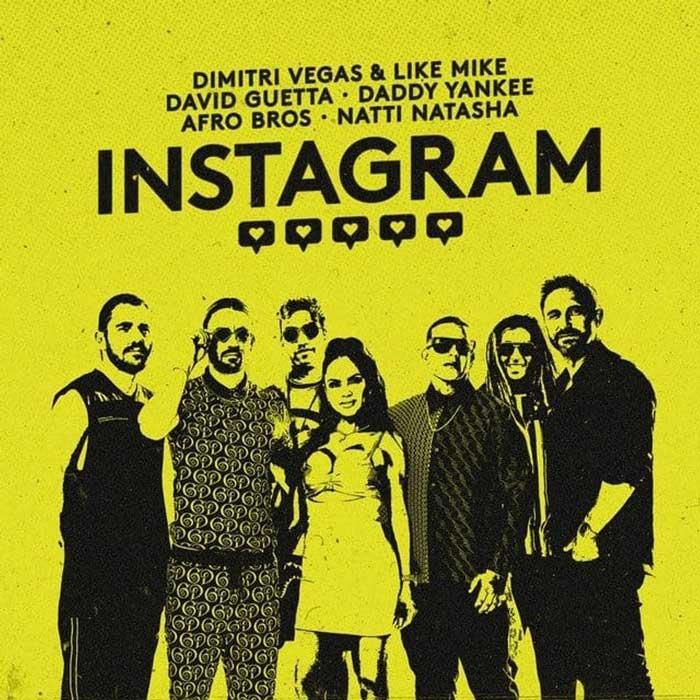 copertina canzone instagram