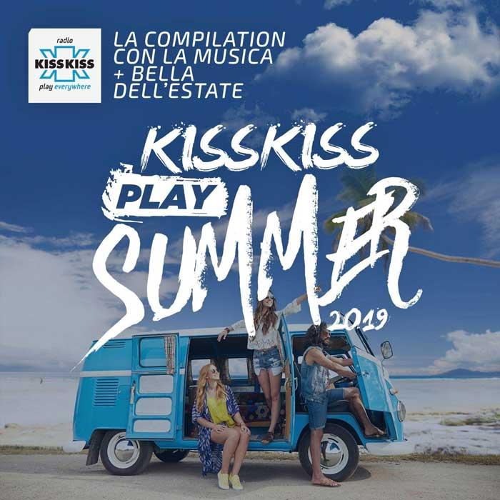 copertina compilation Kiss Kiss Play Summer 2019