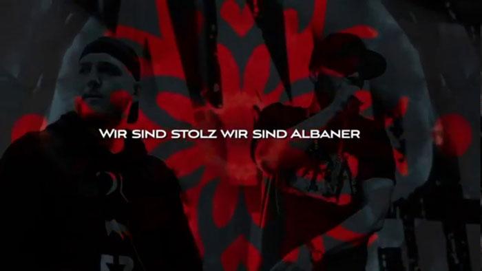 frame lyric video Shqiptar