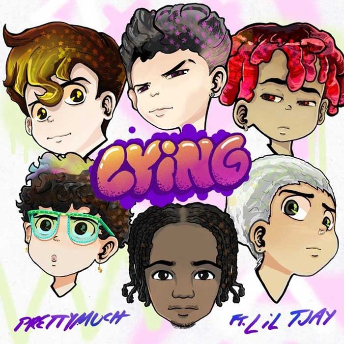 copertina canzone Lying