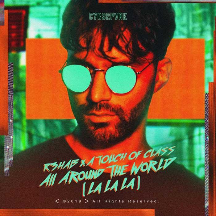 copertina canzone All Around The World la la la
