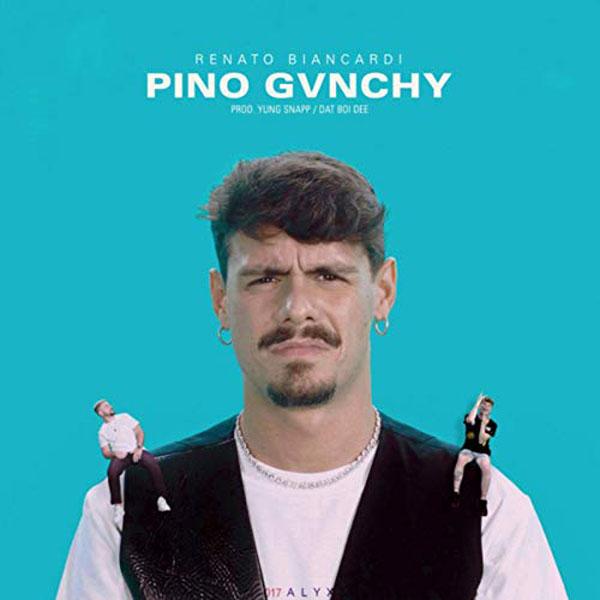 copertina canzone Pino Givenchy