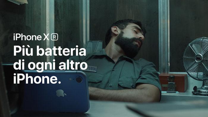 pubblicità iphone xr 2019