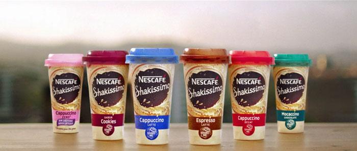 pubblicità Nescafé Shakissimo 2019