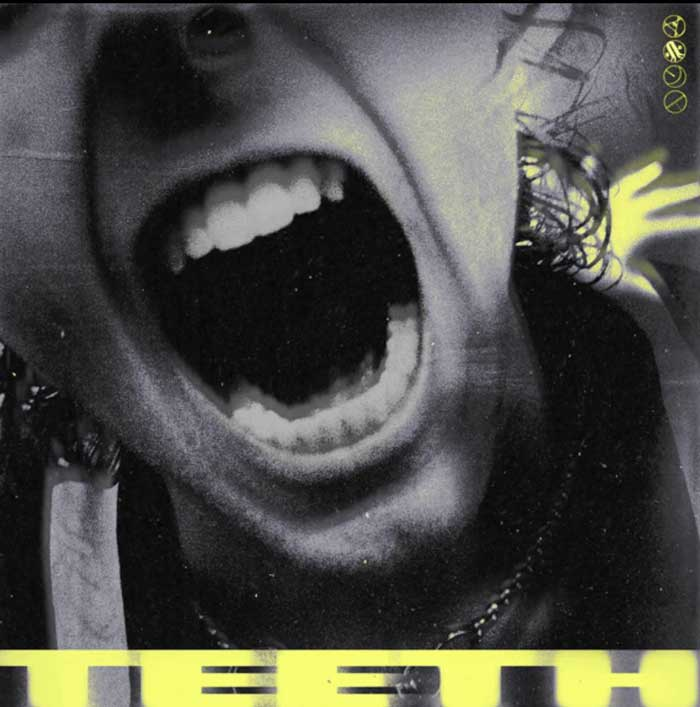 copertina canzone Teeth 5sos