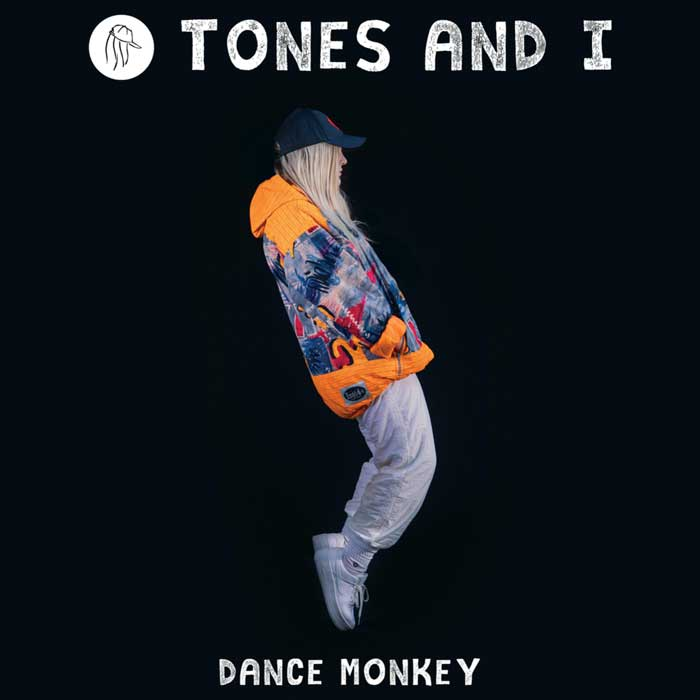 copertina canzone dance monkey
