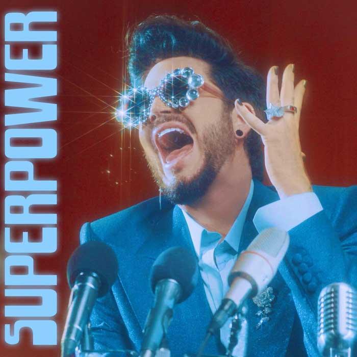 copertina canzone Superpower