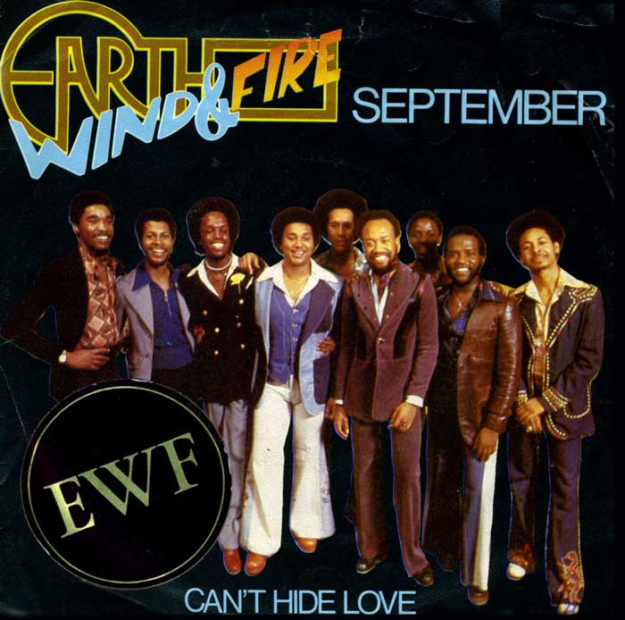 earth, wind and fire september - photo #9