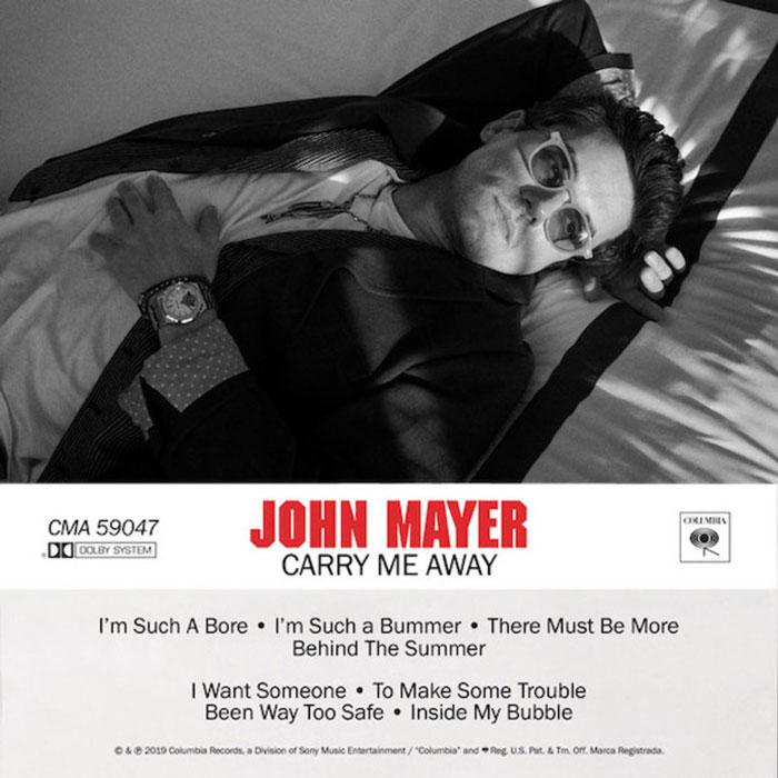 copertina canzone carry me away