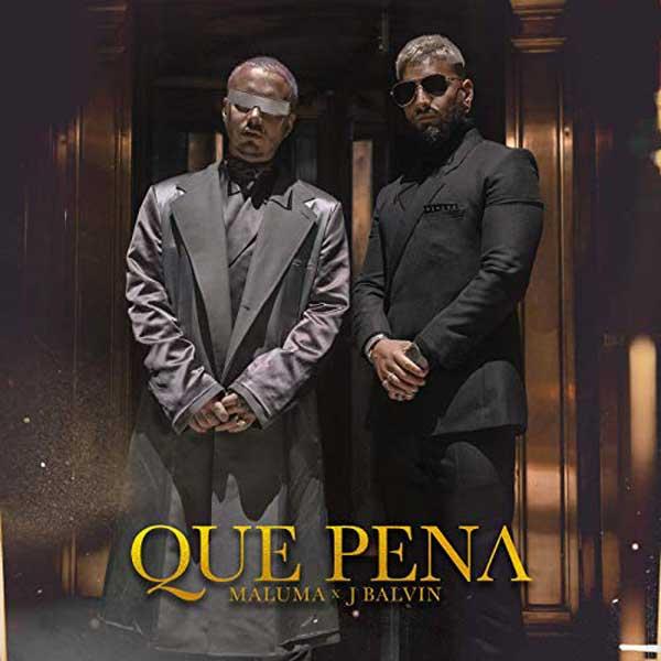 copertina canzone Qué Pena