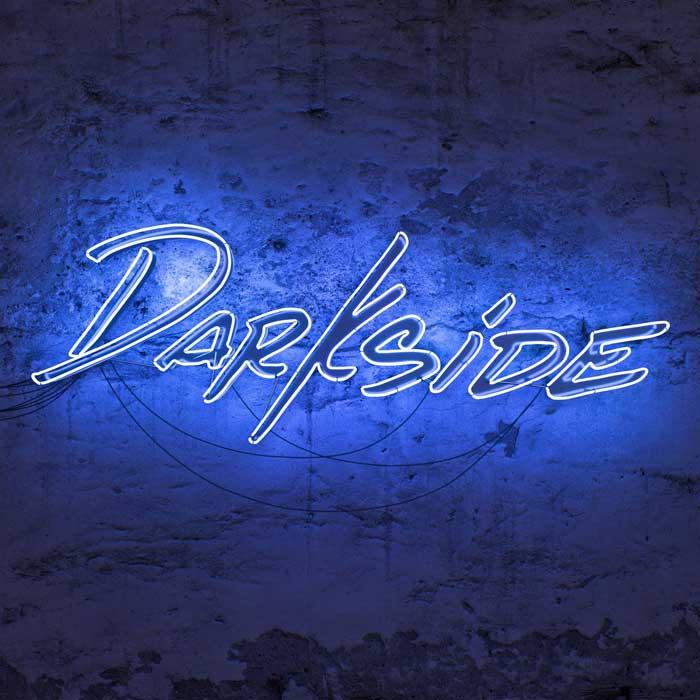 copertina canzone darkside