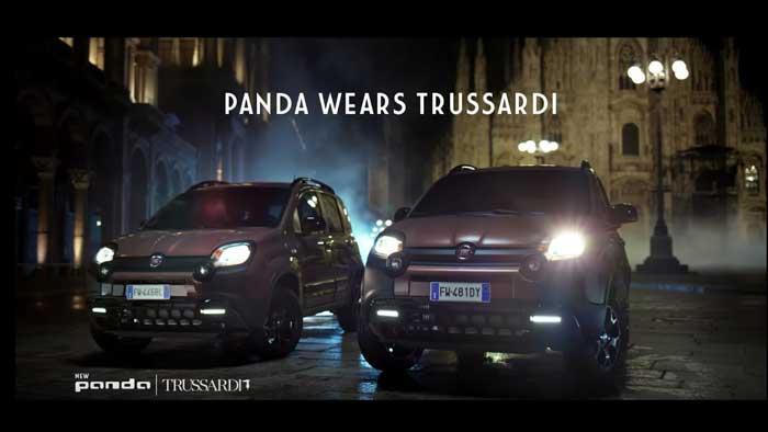 pubblicità Fiat Panda Trussardi con Ava Max