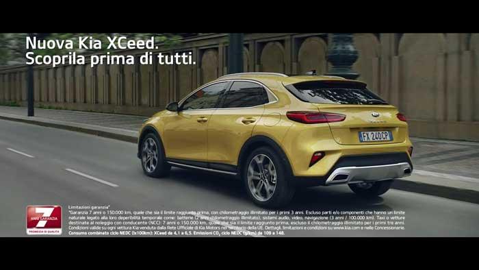 pubblicità Kia XCeed