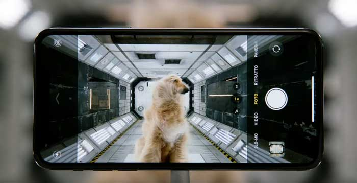 pubblicità iPhone 11 Pro