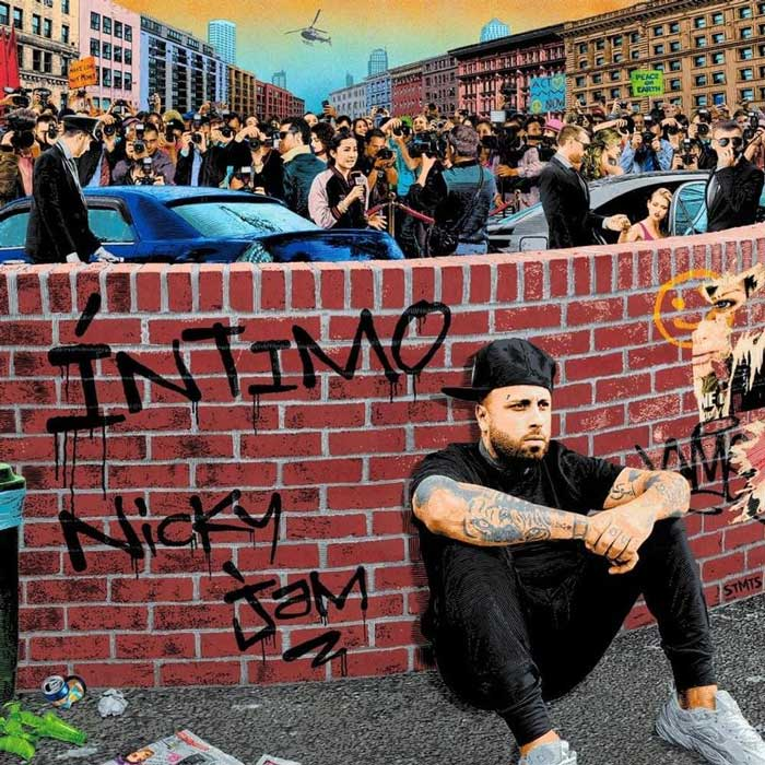 copertina album Íntimo by nicky jam