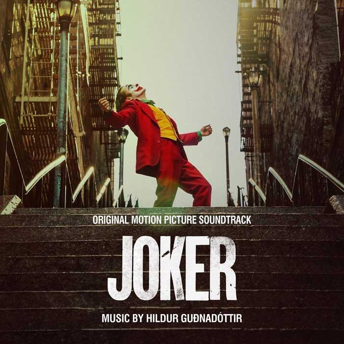 copertina colonna sonora joker