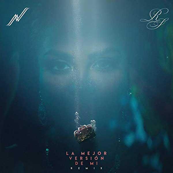 copertina canzone La Mejor Versión De Mi Remix