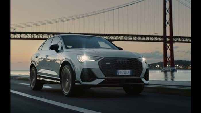 pubblicità Audi Q3 Sportback 2019