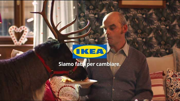 pubblicità ikea 2019 Fatti conquistare dal Natale