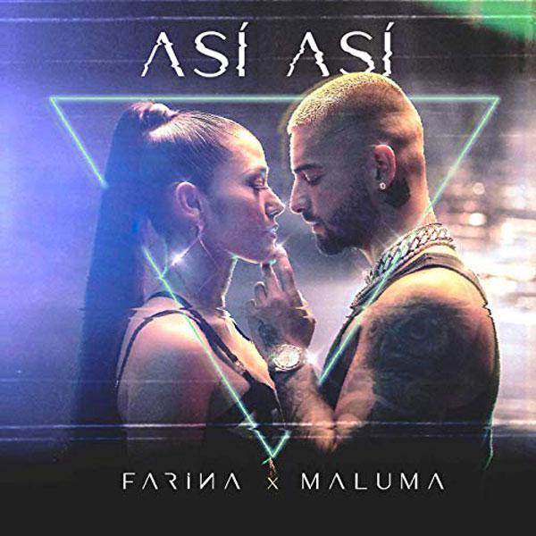 copertina canzone Así Así