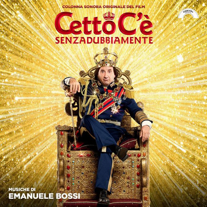 copertina colonna sonora Cetto ce senzadubbiamente