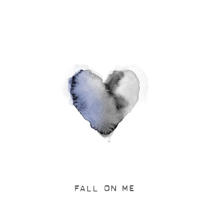 copertina canzone fall on me