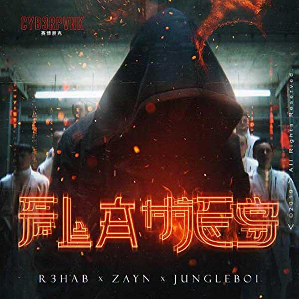 copertina canzone flames