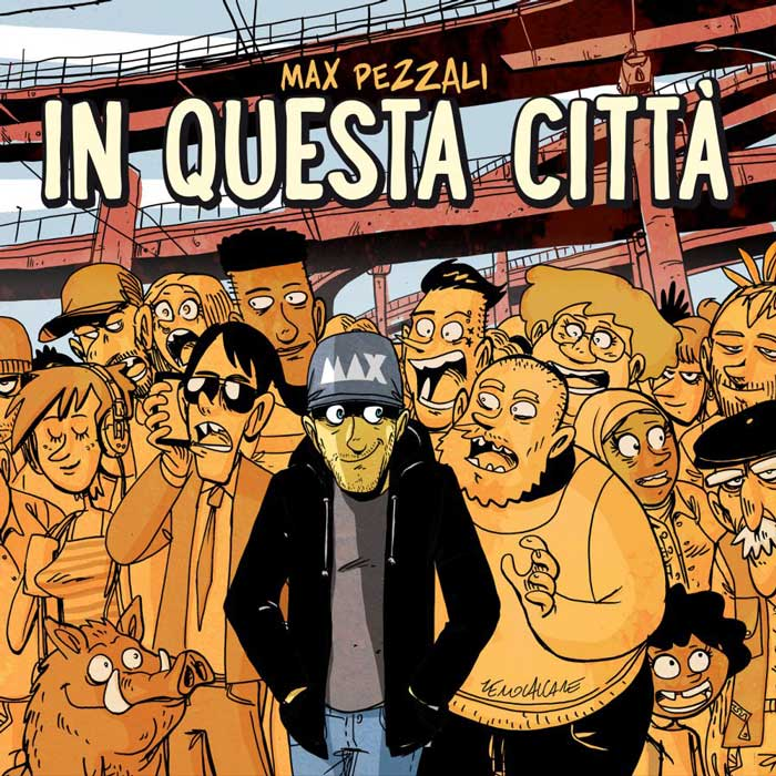 copertina canzone in questa città
