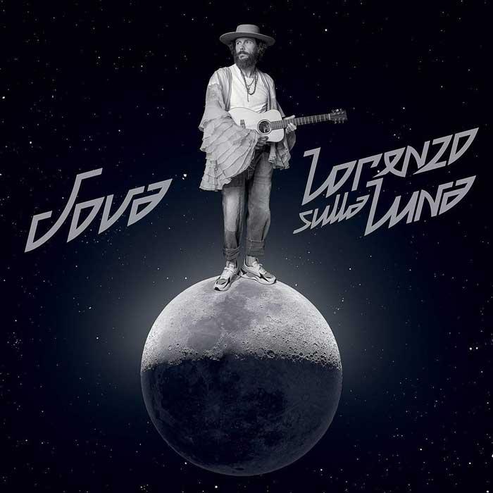 copertina album jova Lorenzo sulla Luna