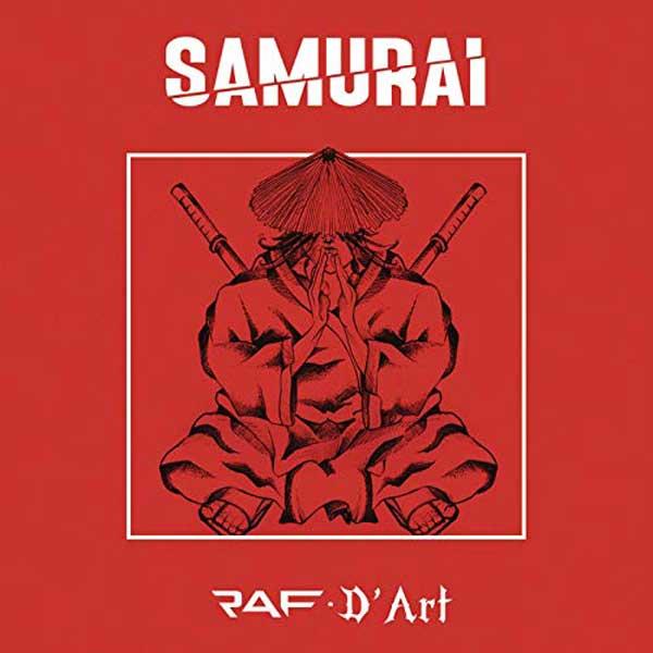 copertina canzone samurai