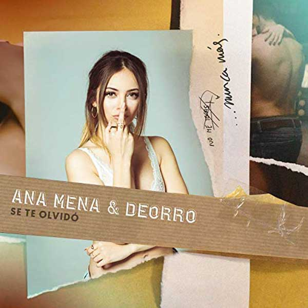copertina canzone Se Te Olvidó