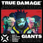 copertina canzone giant by true damage