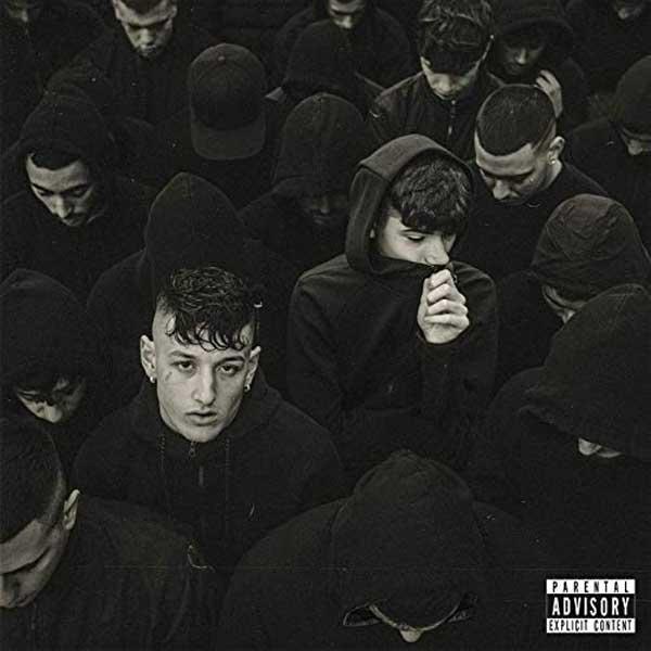 copertina canzone tuta black