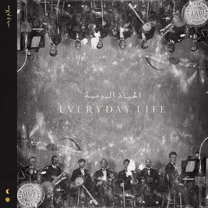 copertina album Coldplay Everyday Life