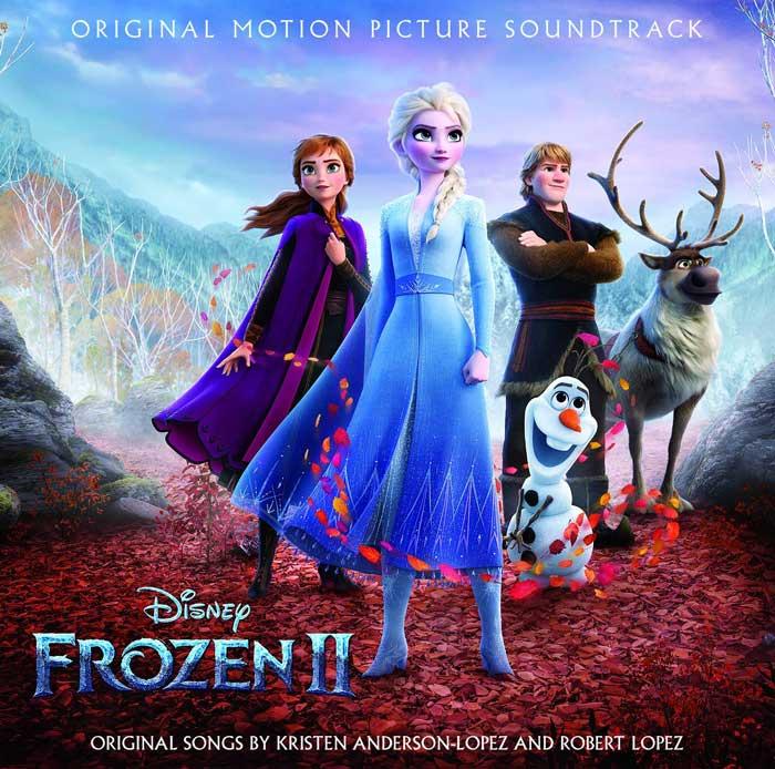 copertina colonna sonora frozen 2