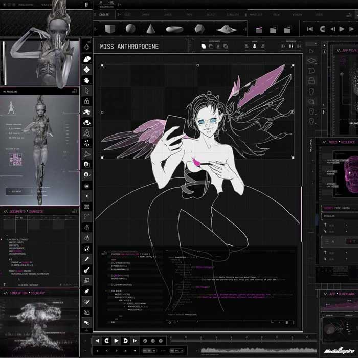 copertina brano My Name Is Dark Art Mix