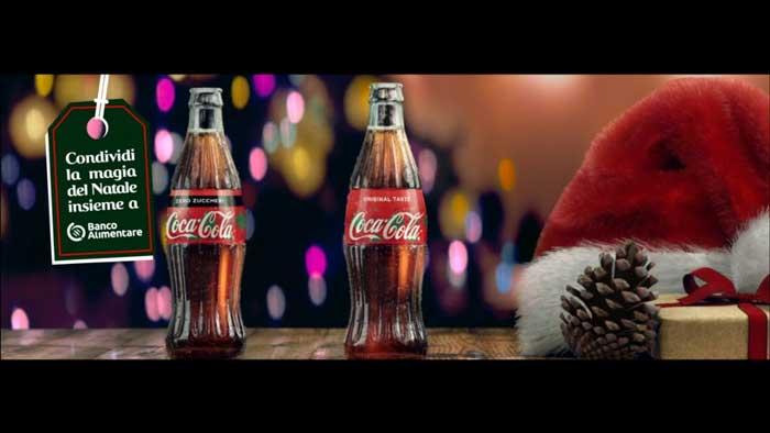 pubblicità coca cola natale 2019