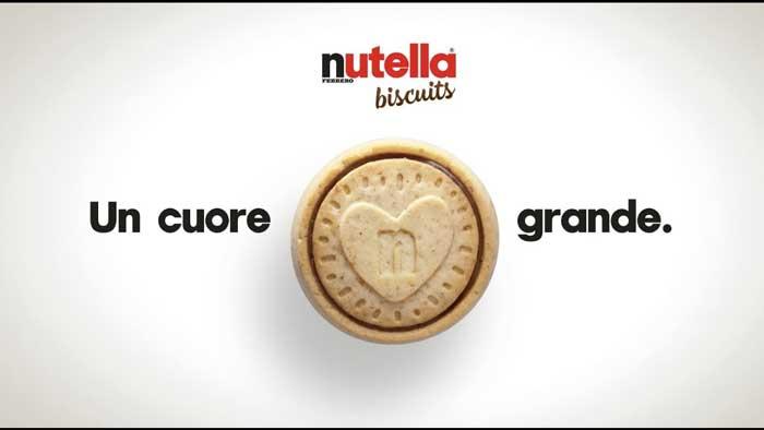 pubblicità nutella biscuits