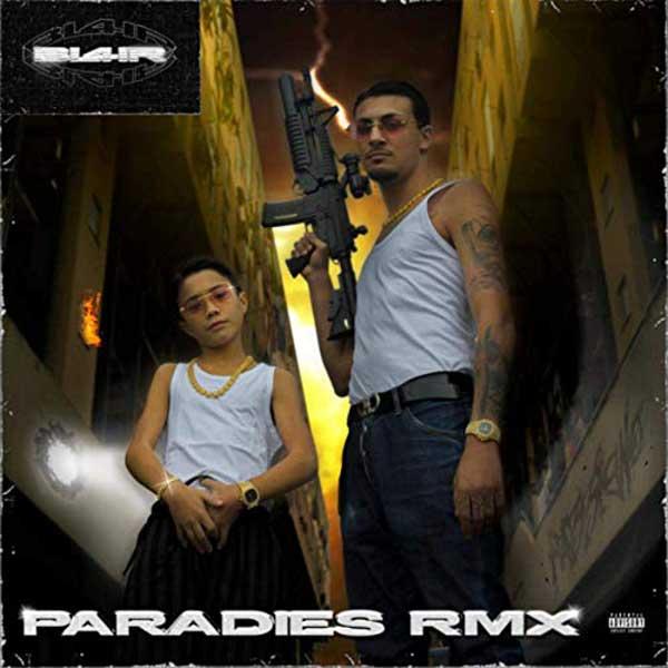 paradies rmx copertina brano
