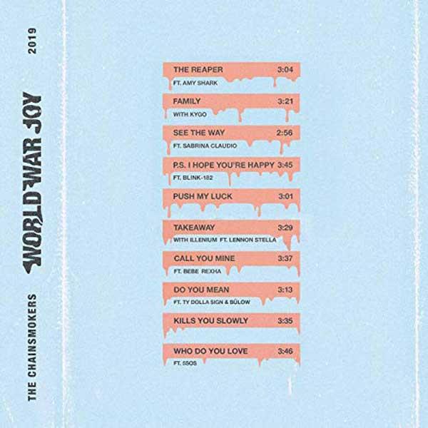 copertina album World War Joy
