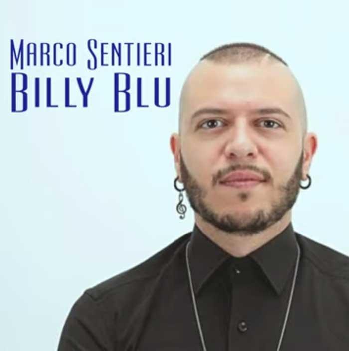 Billy Blu copertina brano