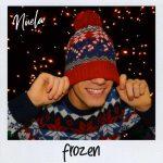 copertina brano frozen by nuela