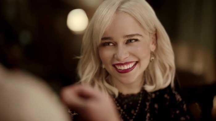 pubblicità dolce e gabbana the only one con Emilia Clarke