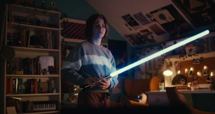 pubblicità samsung galaxy star wars