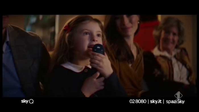 pubblicità sky q 2019