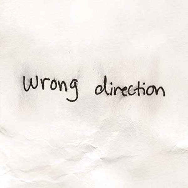 copertina canzone wrong direction
