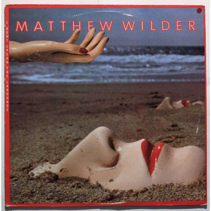 copertina album I Don't Speak the Language Matthew Wilder
