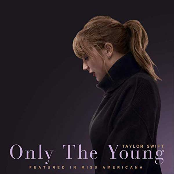 Only The Young copertina brano